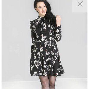 Hell Bunny Odette Vintage Retro  Dress Size s